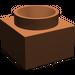 LEGO Reddish Brown Support 2 x 2 x 11 Solid Pillar Base (6168)