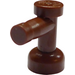 LEGO Reddish Brown Tap 1 x 1 without Hole in End (4599)