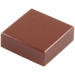 LEGO Reddish Brown Tile 1 x 1 with Groove (3070)