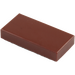 LEGO Reddish Brown Tile 1 x 2 with Groove (3069)