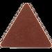LEGO Reddish Brown Triangular Sign with Clip (30259 / 65676)