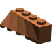 LEGO Reddish Brown Wedge 2 x 4 Sloped Right
