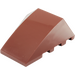 LEGO Reddish Brown Wedge 4 x 4 Triple Curved without Studs (47753)