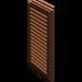 LEGO Reddish Brown Window 1 x 2 x 3 Shutter