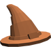 LEGO Reddish Brown Wizard Hat (Older Style with Smooth Surface) (6131)