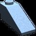 LEGO Sand Blue Slope 25° (33) 1 x 3 (4286)