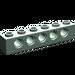 LEGO Sand Green Technic Brick 1 x 6 with Holes