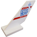 LEGO Shuttle Tail 2 x 6 x 4 with 60183 AIRLIFT Service Sticker (6239)