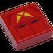 LEGO Sith Jet Trooper Fliese 1 x 1 mit Groove (3070 / 66812)