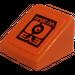 LEGO Slope 1 x 1 (31°) with Eye Wear Sticker (50746)