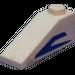 LEGO Slope 25° (33) 1 x 3 with Blue Mandalorian Angle (Right) Sticker (4286)