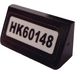 """LEGO Slope 31° 1 x 2 with """"HK60148"""" Sticker (85984)"""