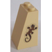 LEGO Slope 75° 2 x 2 x 3 with Lizard Pattern Sticker (98560)
