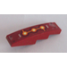 LEGO Slope Curved 4 x 1 with 3 Fire Cores Sticker (11153)