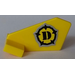 LEGO Tail 2 x 3 x 2 Fin with Sticker from Set 5887 (44661)