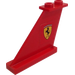 LEGO Tail 4 x 1 x 3 with Ferrari Logo (Left) Sticker (2340)