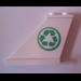 LEGO Tail 4 x 1 x 3 with Recycle Logo Sticker (2340)