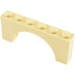 LEGO Tan Arch 1 x 6 x 2 Thick Top and Reinforced Underside (3307)