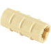 LEGO Tan Axle Connector (Ridged with 'x' Hole) (6538)