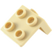 LEGO Tan Bracket 1 x 2 - 2 x 2 (21712 / 44728 / 92411)