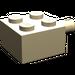 LEGO Tan Brick 2 x 2 with Pin and No Axle Hole