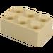 LEGO Tan Brick 2 x 3 (3002)