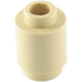 LEGO Tan Brick Round 1 x 1 with Open Stud (3062)