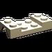 LEGO Tan Car Mudguard 2 x 4 without Hole (3788)
