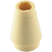 LEGO Tan Cone 1 x 1 with Top Groove (59900)