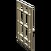 LEGO Tan Door 6 x 7 Barred (4611)