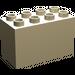 LEGO Tan Duplo Brick 2 x 4 x 2 (31111)