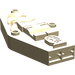 LEGO Tan Egyptian Coffin Lid (30164)