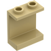 LEGO Tan Panel 1 x 2 x 2 without Side Supports, Hollow Studs (4864)