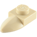 LEGO Tan Plate 1 x 1 with Tooth (49668)
