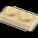 LEGO Tan Plate 1 x 2 (3023)