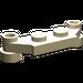 LEGO Tan Plate 1 x 4 Offset (4590)