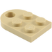 LEGO Tan Plate 3 x 2 with Hole (3176)