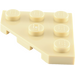 LEGO Tan Plate 3 x 3 without Corner (2450)