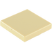 LEGO Tan Tile 2 x 2 with Groove (3068)