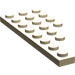 LEGO Tan Wing 4 x 8 Left with Underside Stud Notch (3933)