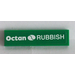 LEGO Tile 1 x 4 with 'Octan RUBBISH' Sticker (2431)