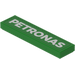 LEGO Tile 1 x 4 with 'Petronas' Decoration Sticker (2431)