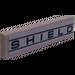 """LEGO Fliese 1 x 4 mit """"Schild"""" Aufkleber (2431)"""