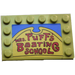 """LEGO Tile 4 x 6 with Edge Studs with """"Mrs Puf's Boating School"""" Sticker (6180)"""