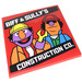 LEGO Tile 6 x 6 with Biff & Sully's Construction Co. Sticker with Bottom Tubes (10202)