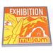 LEGO Tile 6 x 6 with Exhibition Museum Sticker with Bottom Tubes (10202)