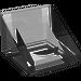 LEGO Translucent White Slope 1 x 1 (31°)