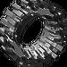 LEGO Translucent White Tire 30 x 10.5 with Ridges Inside (2346)