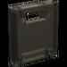 LEGO Transparent Black Container Box 2 x 2 x 2 Door with Slot (30059)