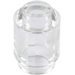 LEGO Transparent Brick 1 x 1 Round with Open Stud (3062 / 30068 / 35390)